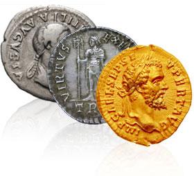 Ancient Roman & Greek Coins | Ancient Gold & Silver Coins | La Jolla
