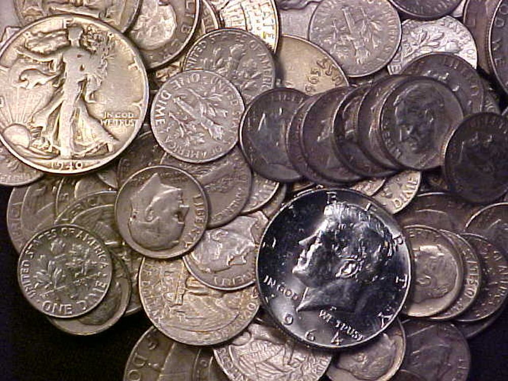 junk silver coins